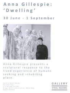 Anna Gillespie: 'Dwelling' Exhibition @ The Steel Rooms | England | United Kingdom