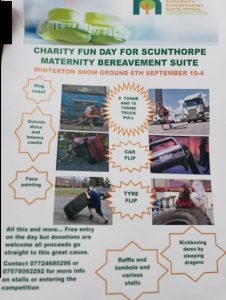 Charity Fun Day for Scunthorpe Maternity Bereavement Suite @ Winterton Showground