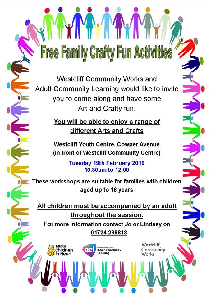 Free Family Fun Activities @ Westcliff Youth Centre