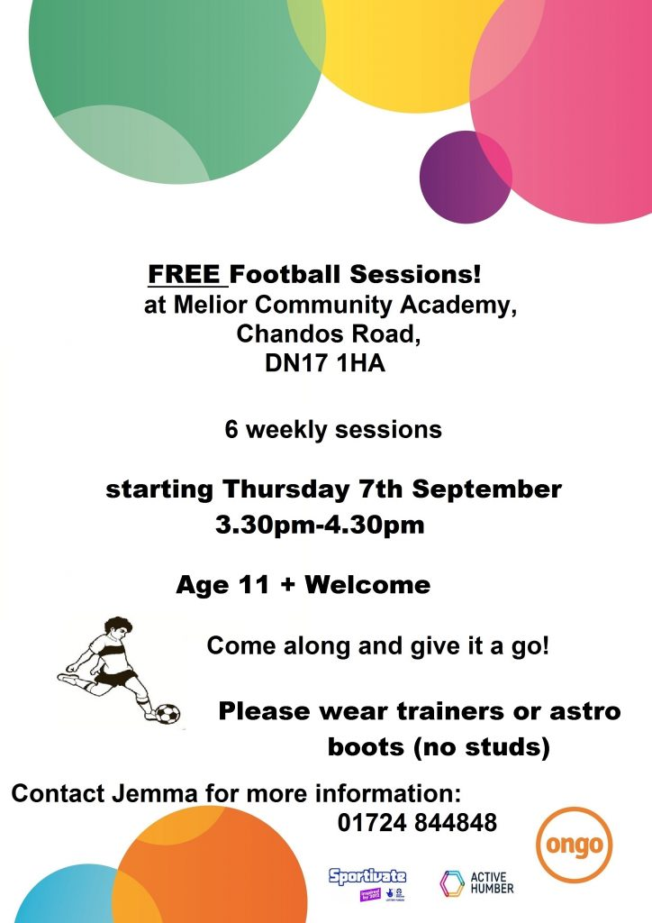 Football Sessions @ Melior Community Academy | England | United Kingdom