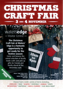 Christmas Craft Fair @ Waters' Edge Visitor Centre