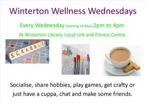 Winterton Wellness Wednesdays @ Winterton Library, Local Link and Fitness Centre