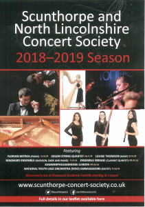 Scunthorpe and North Lincolnshire Concert Society @ Outwood Academy Foxhills | England | United Kingdom
