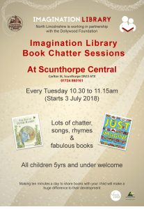 Imagination Library Book Chatter Sessions @ Scunthorpe Central Library