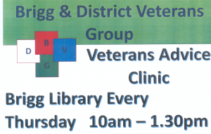 Brigg and District Veterans Advice Clinic @ Brigg Library