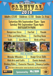 The Barton Carnival 2018 @ Baysgarth Park