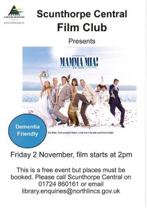 Scunthorpe Central Film Club Presents Mamma Mia! @ Scunthorpe Central