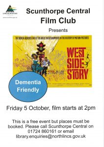 Scunthorpe Central Film Club Presents @ Scunthorpe Central