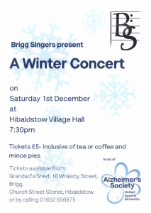 A Winter Concert @ Hibaldstow Village Hall