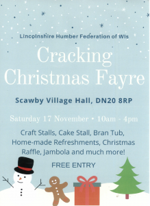 Cracking Christmas Fayre @ Scawby Village Hall
