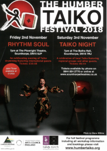 Taiko Night @ The Baths Hall