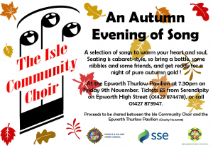 An Autumn Evening of Song @ Epworth Thurlow Pavilion