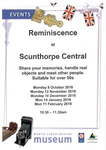 Reminiscence session @ Scunthorpe Central