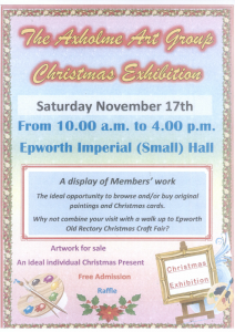The Axholme Art Group Christmas Exhibition @ Epworth Imperial Hall