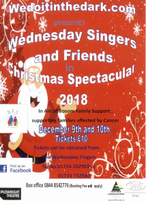 Wednesday Singers and Friends in Christmas Spectacular @ Plowright Theatre