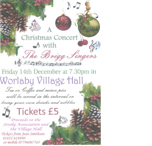 A Christmas Concert with The Brigg Fingers @ Worlaby Village Hall