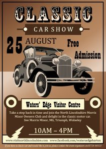 CLASSIC CAR SHOW 2019 @ Waters' Edge Visitor Centre