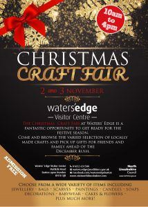CHRISTMAS CRAFT & GIFT FAIR @ Waters' Edge Visitor Centre