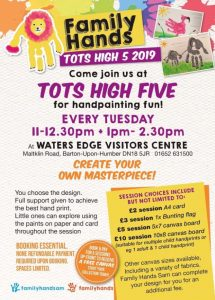 Family Hands Tots High 5 @ Waters' Edge Visitor Centre