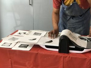 Collagraph Printing with Sinclair Ashman @ 20-21 Visual Arts Centre
