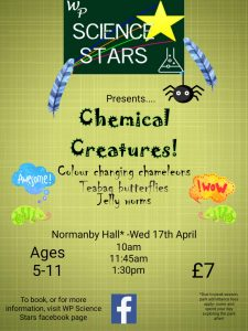 WP Science Stars: Chemical Creatures @ Normanby Hall