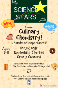 Sold Out - WP Science Stars: Culinary Chemistry @ Normanby Hall