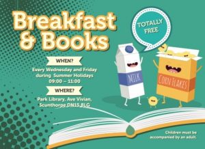 Breakfast and Books @ Scunthorpe Central