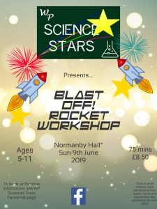 WP Science Stars - Blast Off Rocket Workshop @ Normanby Hall