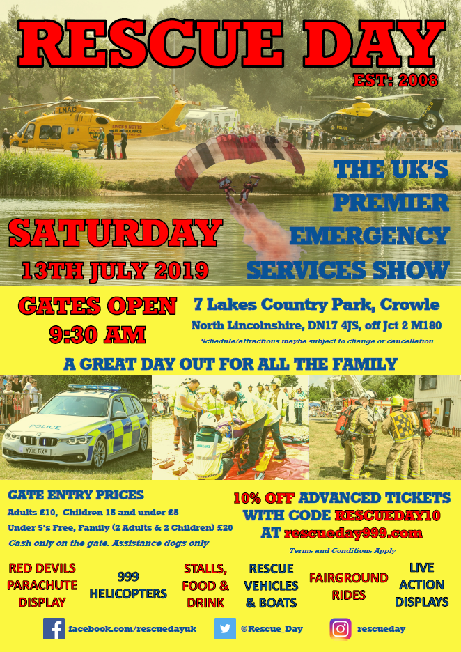 Rescue Day @ 7 Lakes Country Park