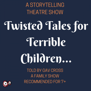Twisted Tales for Terrible Children @ Riddings Library