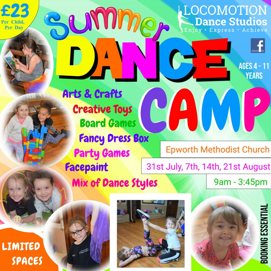 Summer Dance Camp @ Epworth Methodist Church