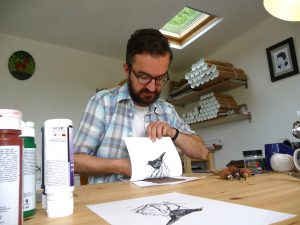 Introduction to Linocut @ 20-21 Visual Arts Centre