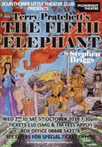 The Fifth Elephant @ The Plowright Theatre