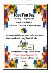 Lego Fun Day! @ Scunthorpe Central