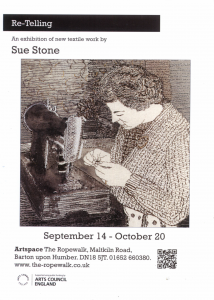 Exhibition: Sue Stone @ Ropery Hall
