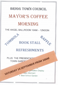 Mayors Coffee Morning @ Angel Suite, Market Place
