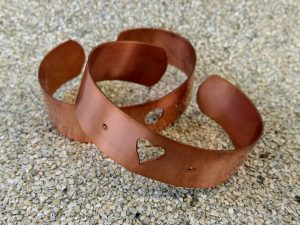 Copper Bracelet Workshop @ 20-21 Visual Arts Centre
