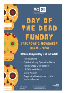 Day of the Dead Funday @ 20-21 Visual Arts Centre