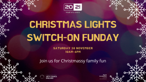 Christmas Light Switch-on Funday @ 20-21 Visual Arts Centre