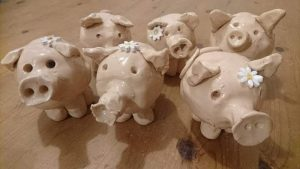 Children's pottery pig workshop @ Waters' Edge Visitor Centre