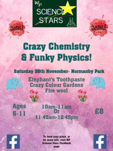 WP Science Stars: Crazy Chemistry & Funky Physics @ Normanby Hall