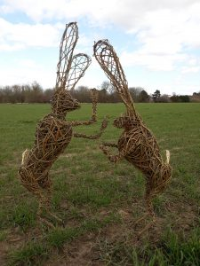 Twigs & Sprigs Willow Hare @ Waters' Edge Visitor Centre